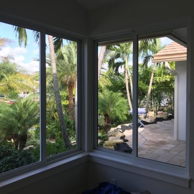 Window cleaning in Boca Raton